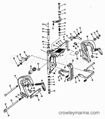 Mercury Ignition Switch Wiring Cable