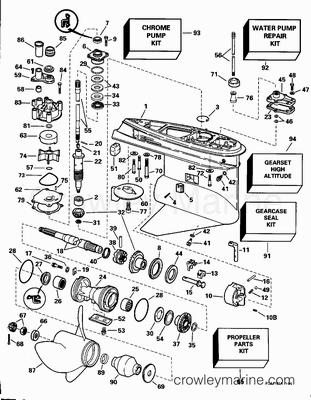 Yamaha 150 Outboard Lower Unit Parts Diagram Yamaha 150