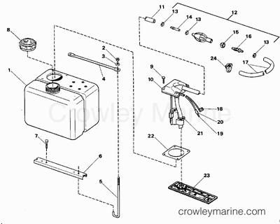 Evinrude Tilt Trim Manual Release