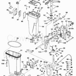 Yamaha Trim Gauge Wiring Diagram Typical House Light 2000 Johnson Outboards 50 [j50plssm] - Parts Lookup ...