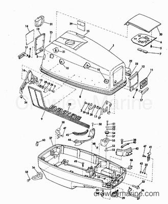 1972 Evinrude Outboard Motor Diagrams Evinrude Engine