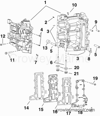 Inboard Engine Cooling System Diagrams Engine Lights