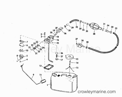 Johnson Evinrude Ignition Wiring Diagrams 60 HP Mercury