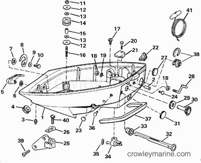 1992 Yamaha Outboard Engine Diagram 1992 Yamaha 9.9 HP
