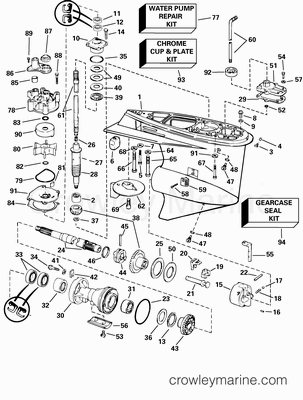 Evinrude E Tec 40 Hp Engine Diagram 1980 Evinrude 40 HP