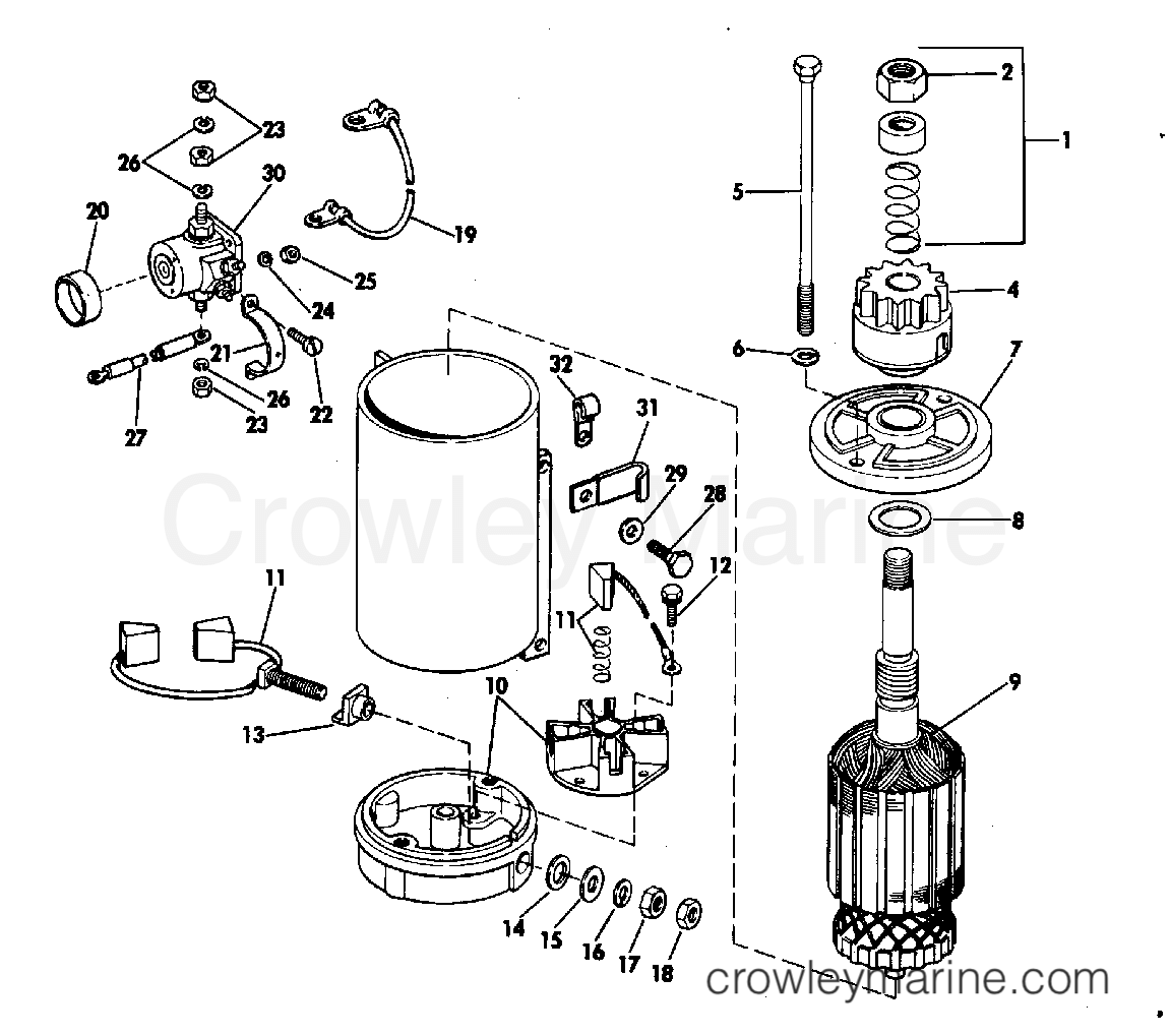 Diagram Of 1983 Dt5ld Suzuki Marine Outboard Electrical Diagram And