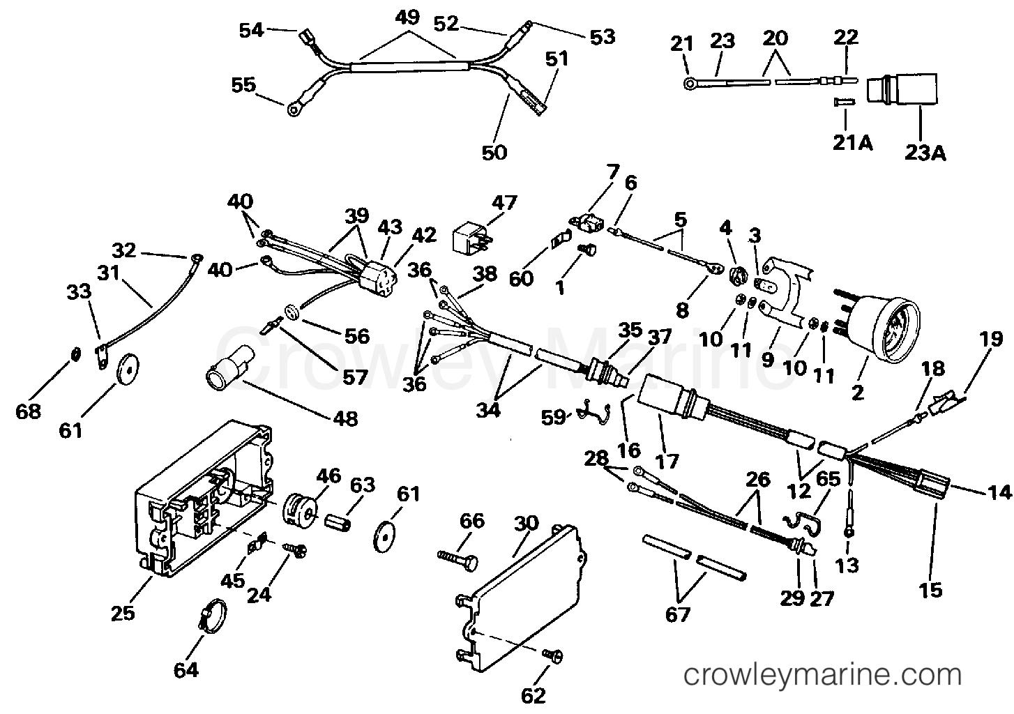 Power Trim Tilt Electrical