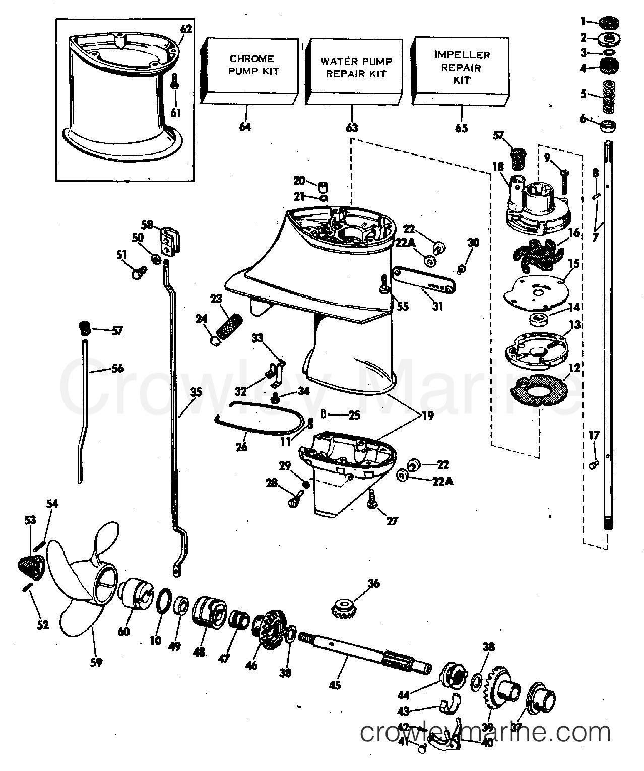 1978 Evinrude Outboard Boat Repair