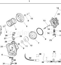 2001 2004 rigging parts accessories oil system replacement fuel oil pump  [ 2148 x 1510 Pixel ]