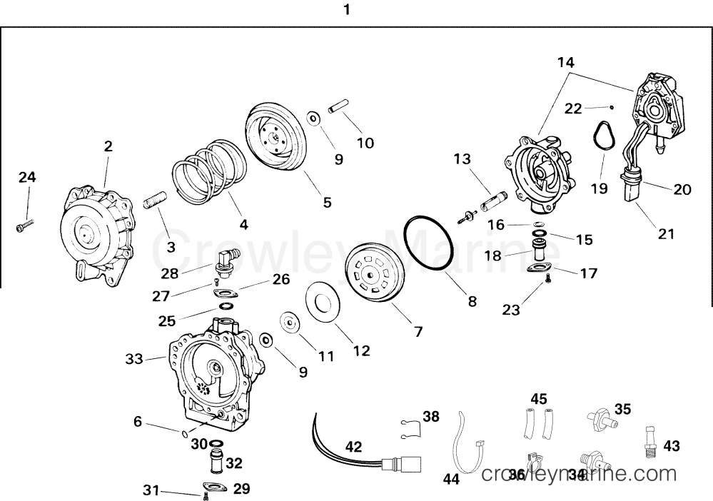 medium resolution of 2001 2004 rigging parts accessories oil system replacement fuel oil pump