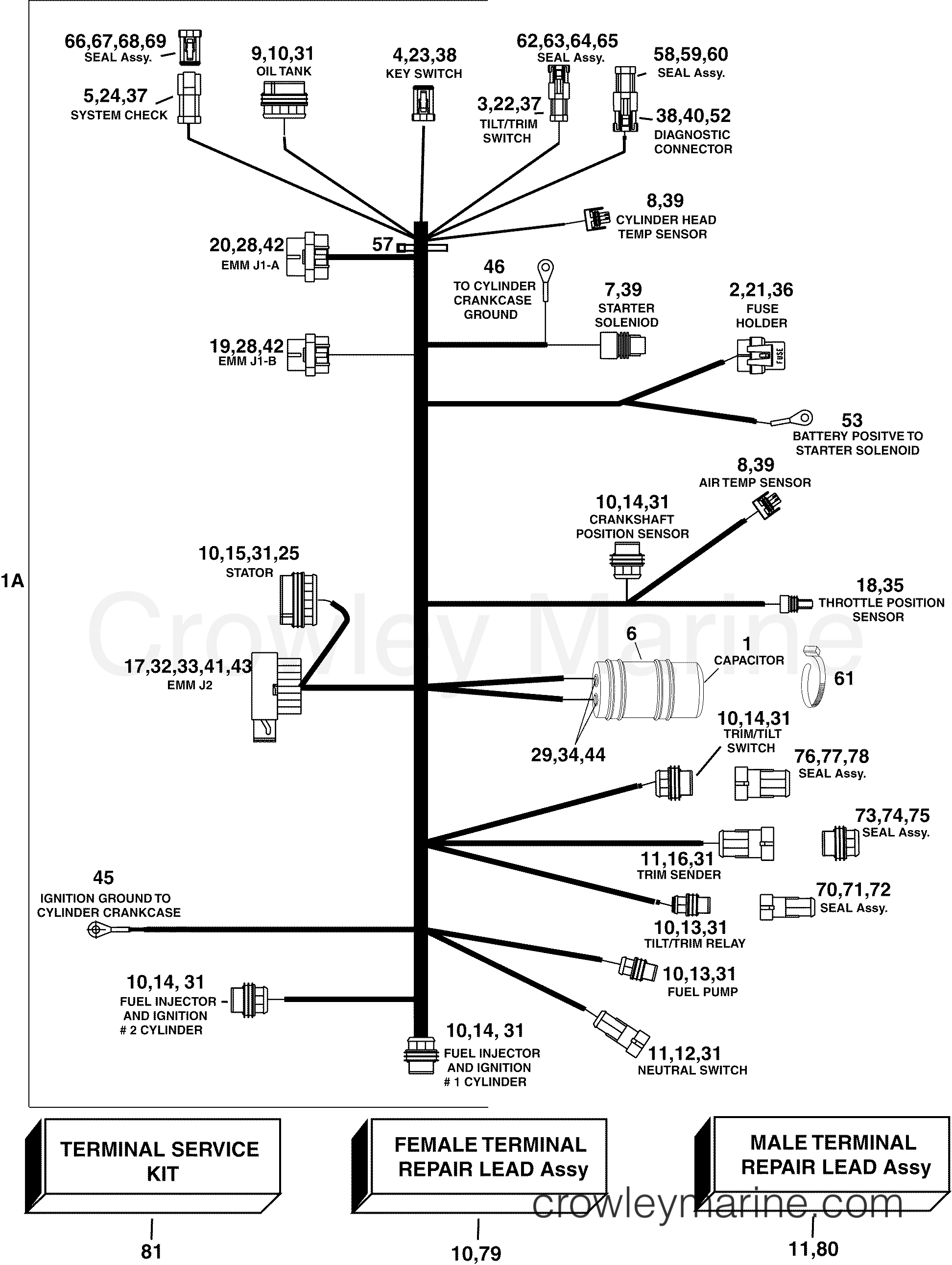 Engine Electrical Harness