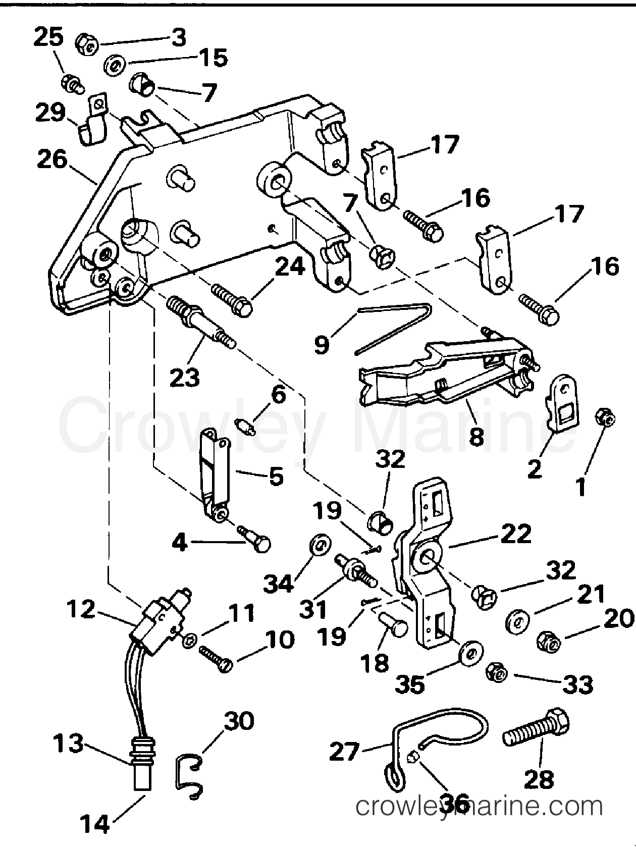 Shift Lever And Interrupter