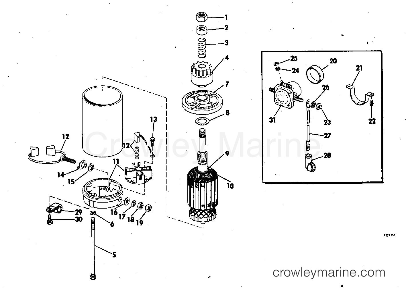 Electric Starter Amp Solenoid