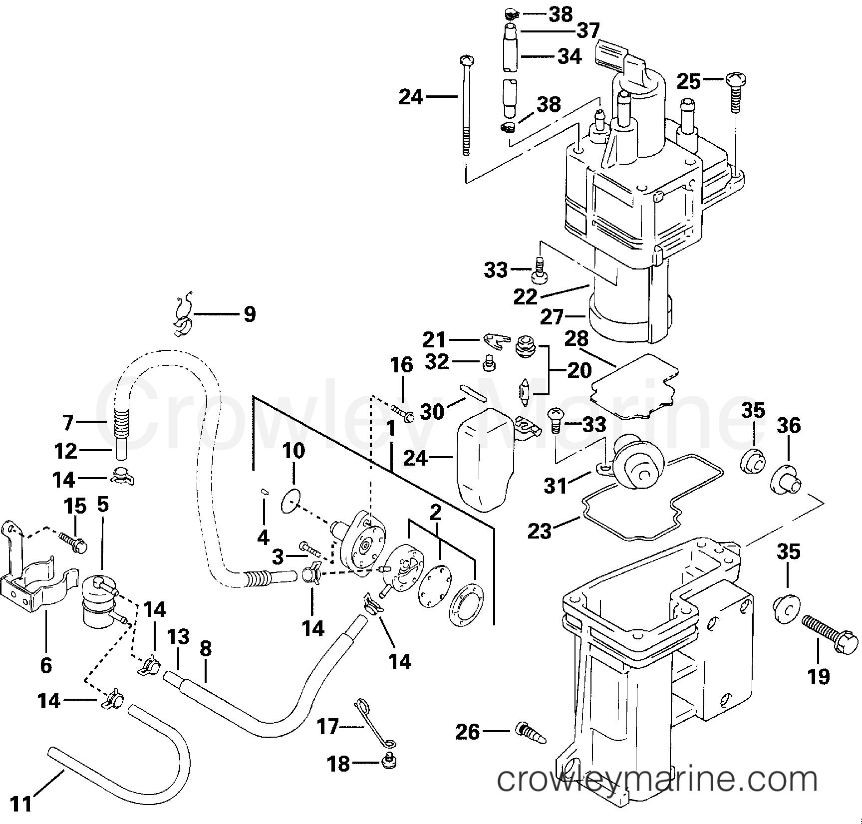 Fuel Pump Amp Separator