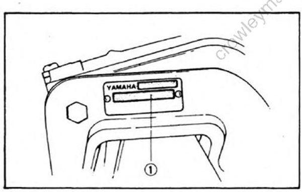 General Info [Outboard Motor Identification] [1987
