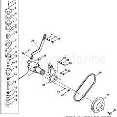 Mercruiser Water Pump Diagram Vtec Wiring Ecu Sea Assembly Bravo 1987 260