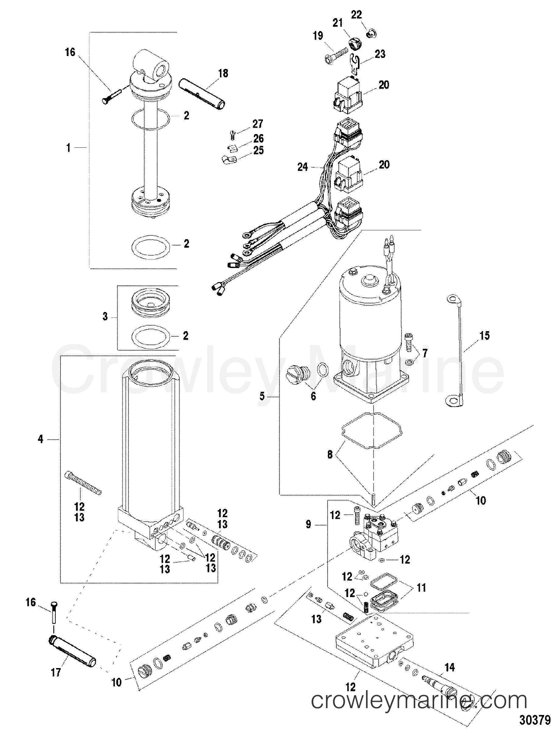 Pump Motor Assembly A3
