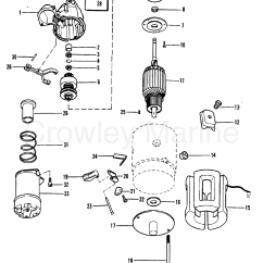 Delco Remy Generator Wiring Diagram 12v 30a Relay Starter Motor 1998317 1990 Mercruiser 3 0l