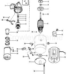 1990 mercruiser 3 0l alpha i 430b00001 starter motor delco remy [ 1913 x 2453 Pixel ]