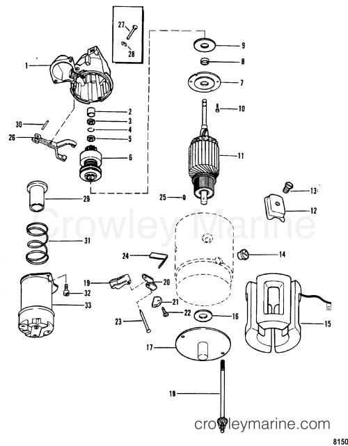 small resolution of 1990 mercruiser 3 0l alpha i 430b00001 starter motor delco remy