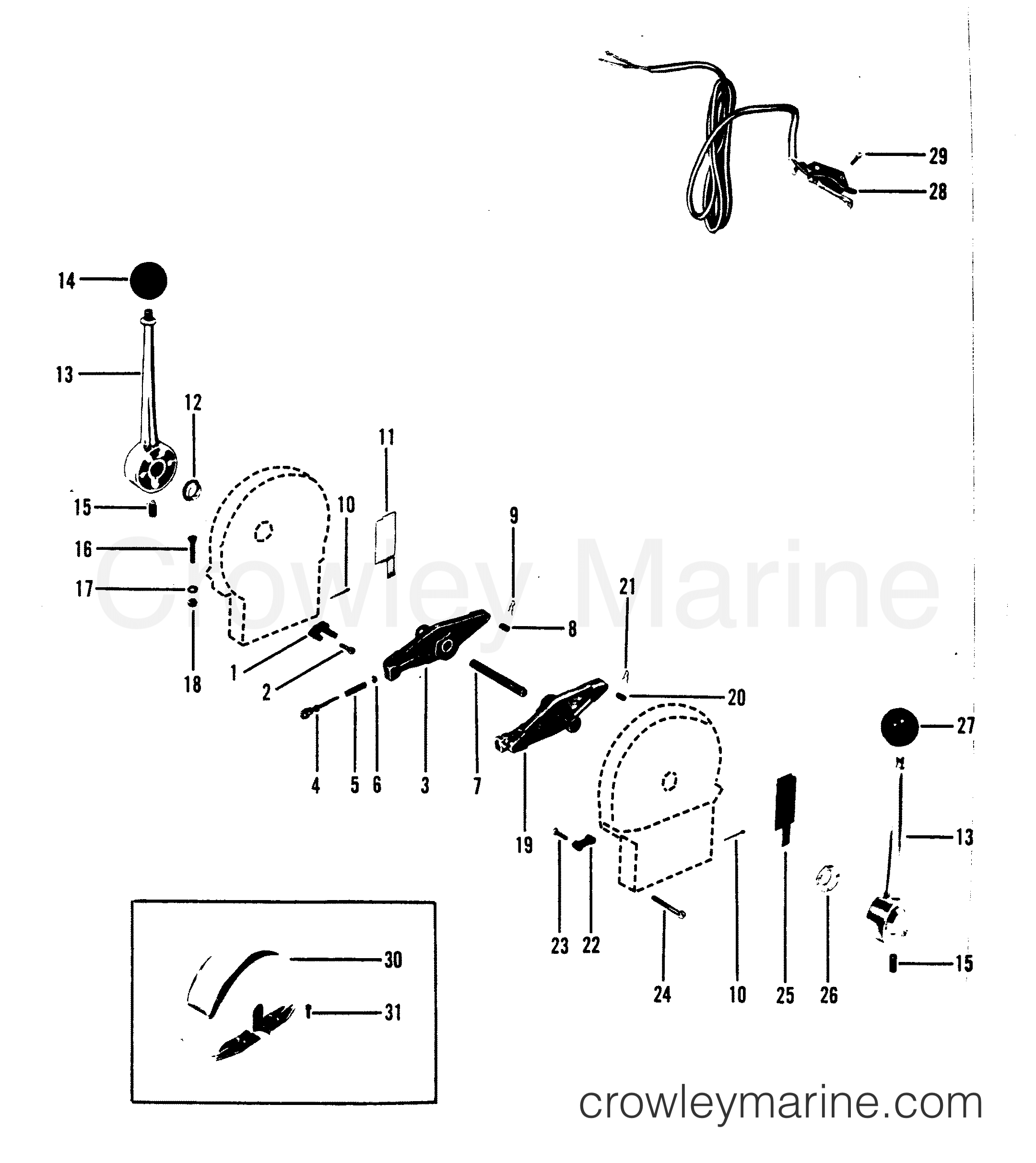 Remote Control Assembly A1