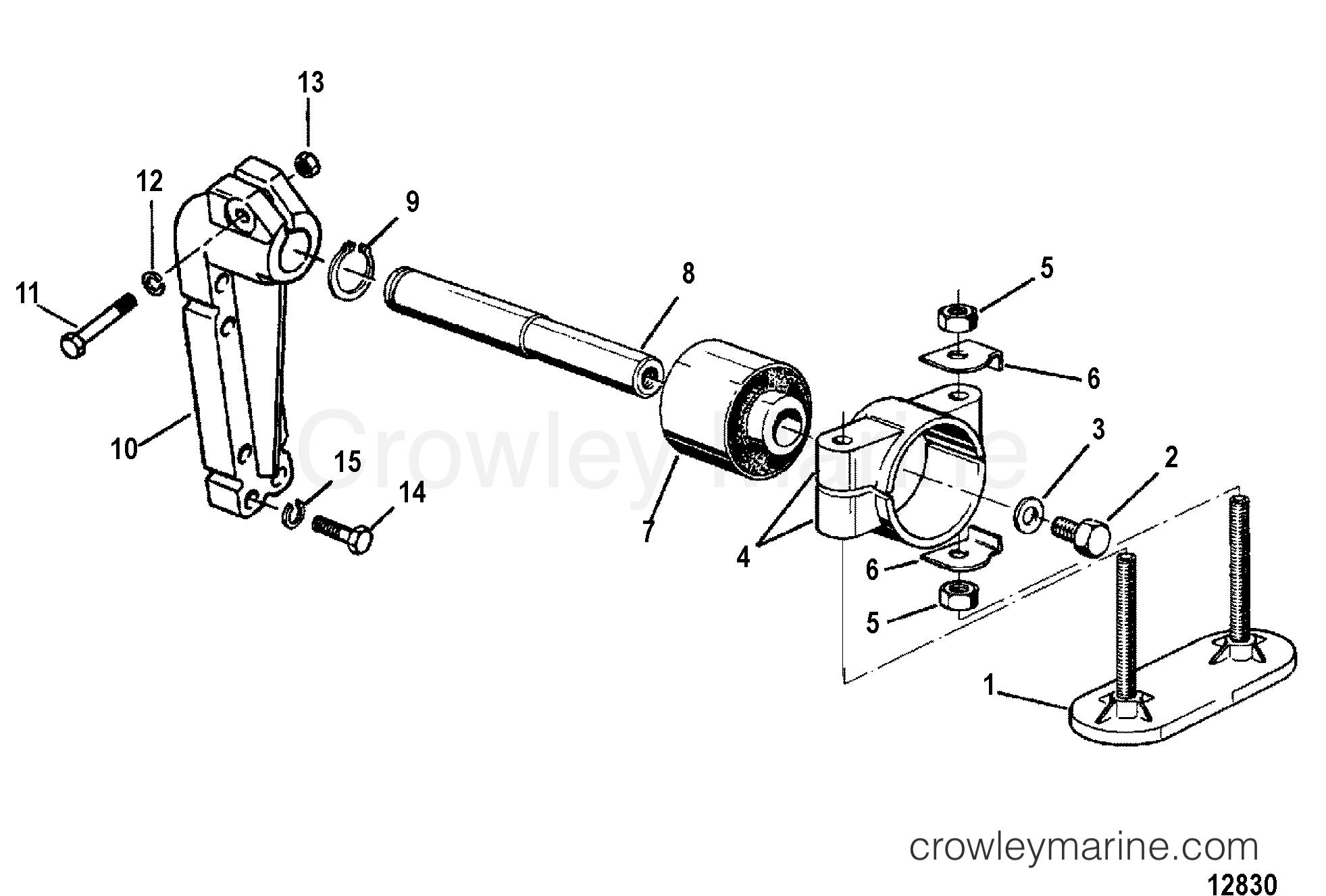 Transmission Mounting Inboard