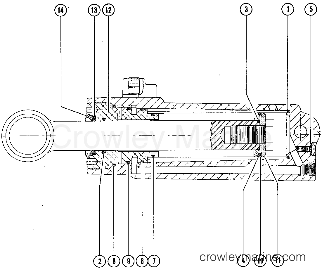Power Trim Cylinder Repair Kits