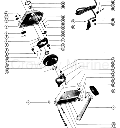 various years rigging parts remote controls and components mercruiser 1985 and below  [ 2131 x 2745 Pixel ]