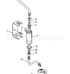 fuel pump and fuel filter 1992 mercruiser 4 3l alpha i 443b0002s diagram of 1992 mercruiser 443b1012s fuel pump and fuel filter diagram [ 1455 x 2446 Pixel ]