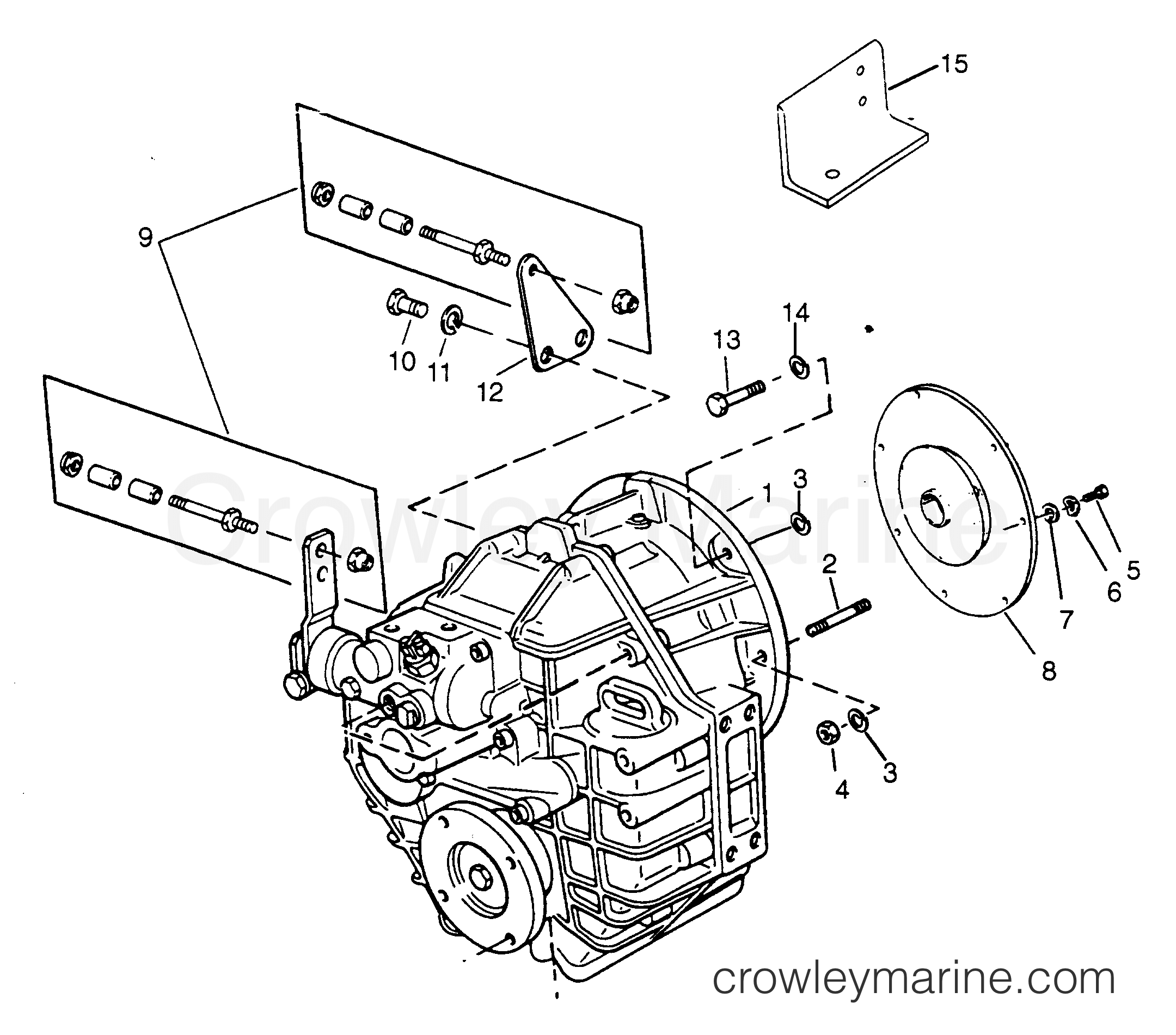 Transmission And Related Parts