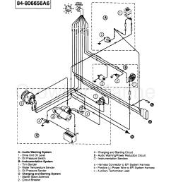 1994 mercruiser 5 7l tbi bravo 457b111gs wiring harness enginie  [ 2160 x 2650 Pixel ]