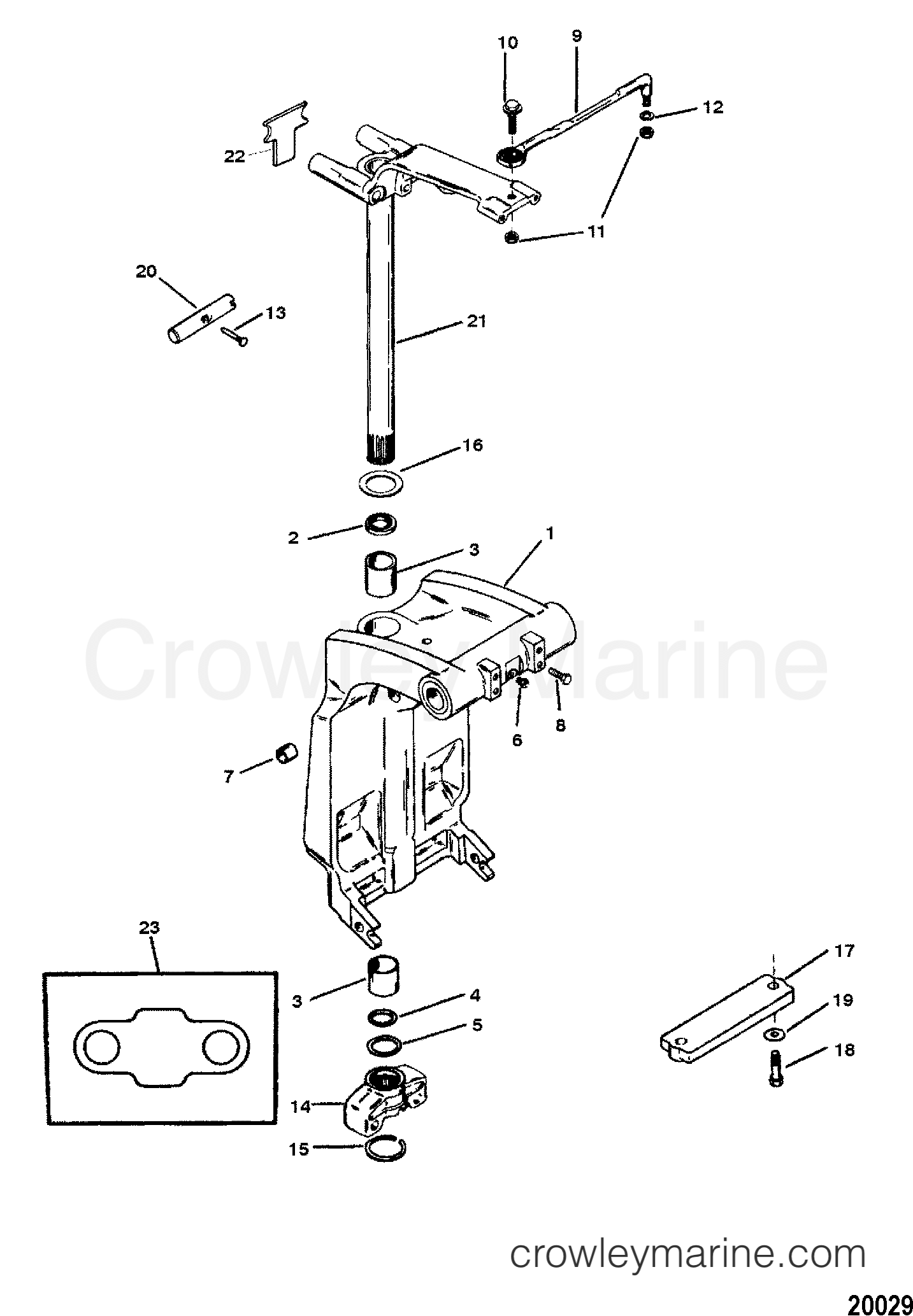 1996 force outboard engine diagram