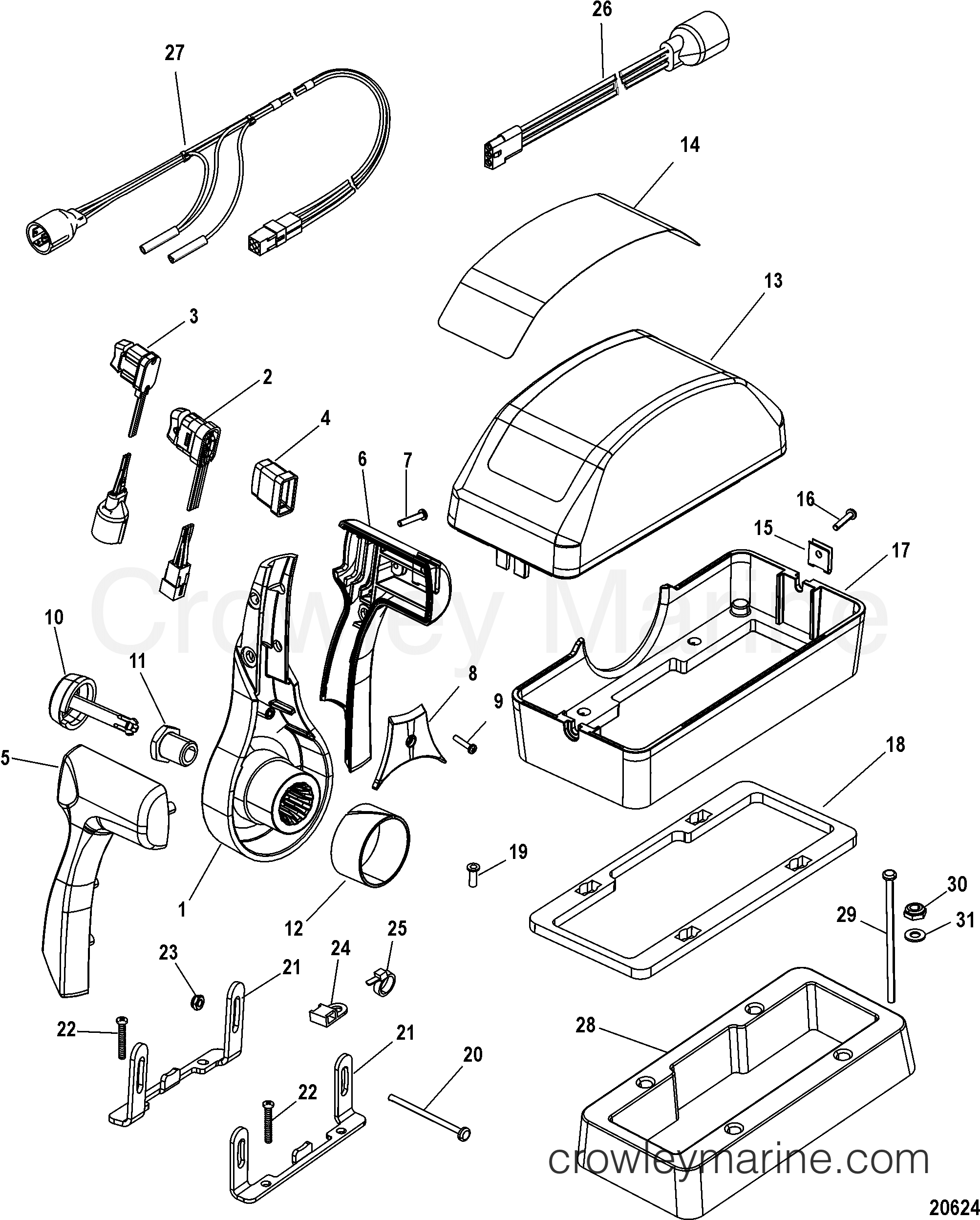 mercury quicksilver throttle control diagram wiring for hot water heater remote 4500 gen ii single console 883711a11
