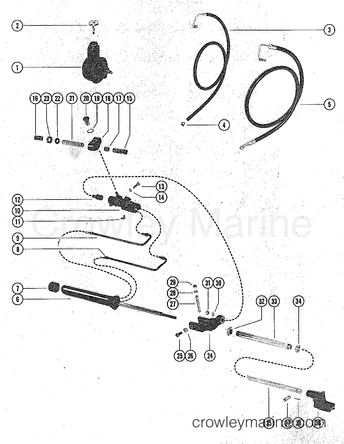 Power Steering Components With Hoses