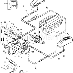 Marine Engine Cooling System Diagram Stereo Wiring For 2005 Ford F150 Closed 1996 Mercury Inboard 7 4l