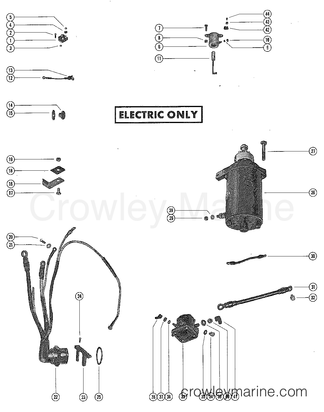 Mercury Mariner Wiring Harness