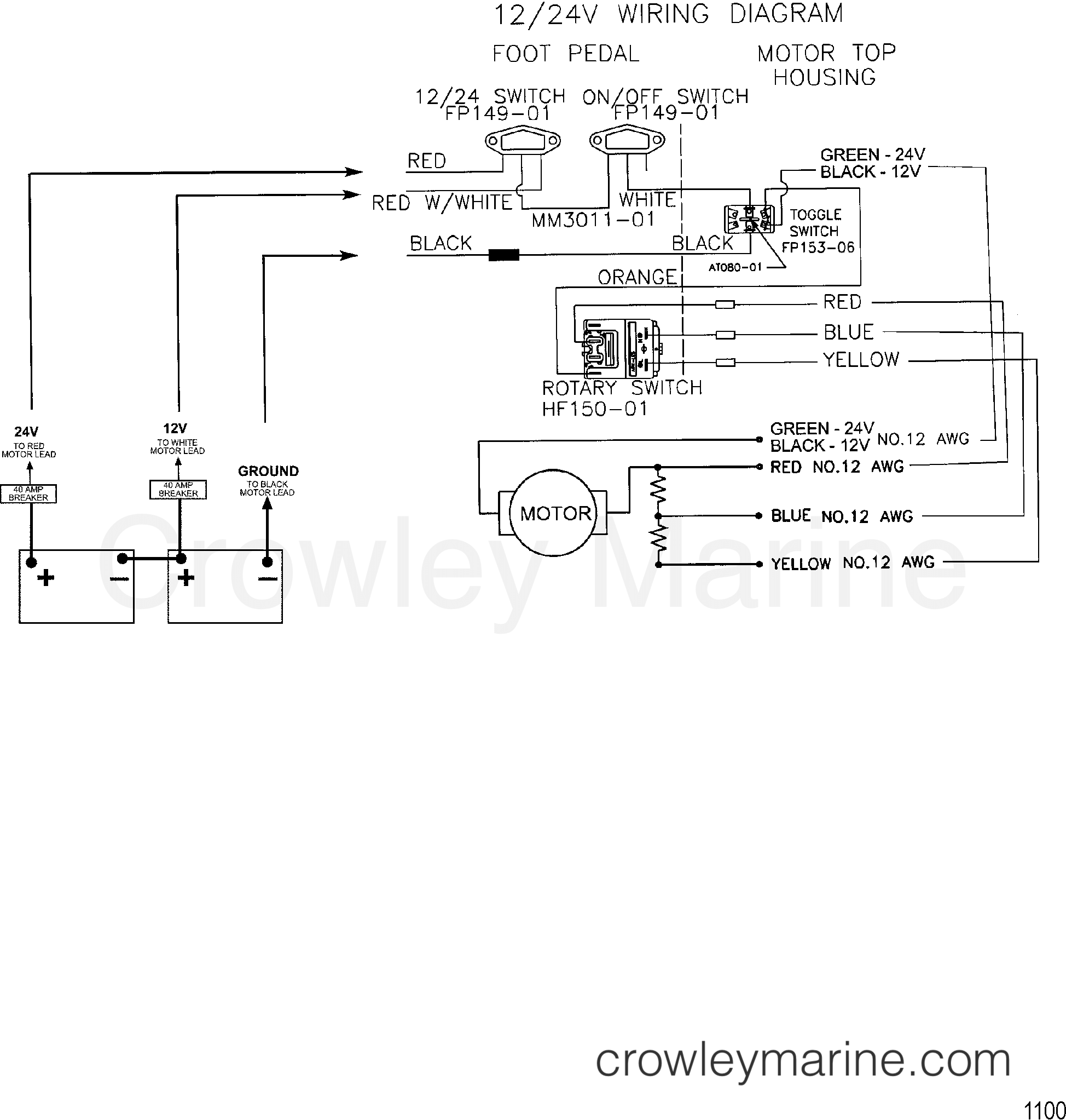 hight resolution of motorguide 24 volt wiring diagram wiring diagram hub floscan wiring diagram motorguide battery wiring diagram