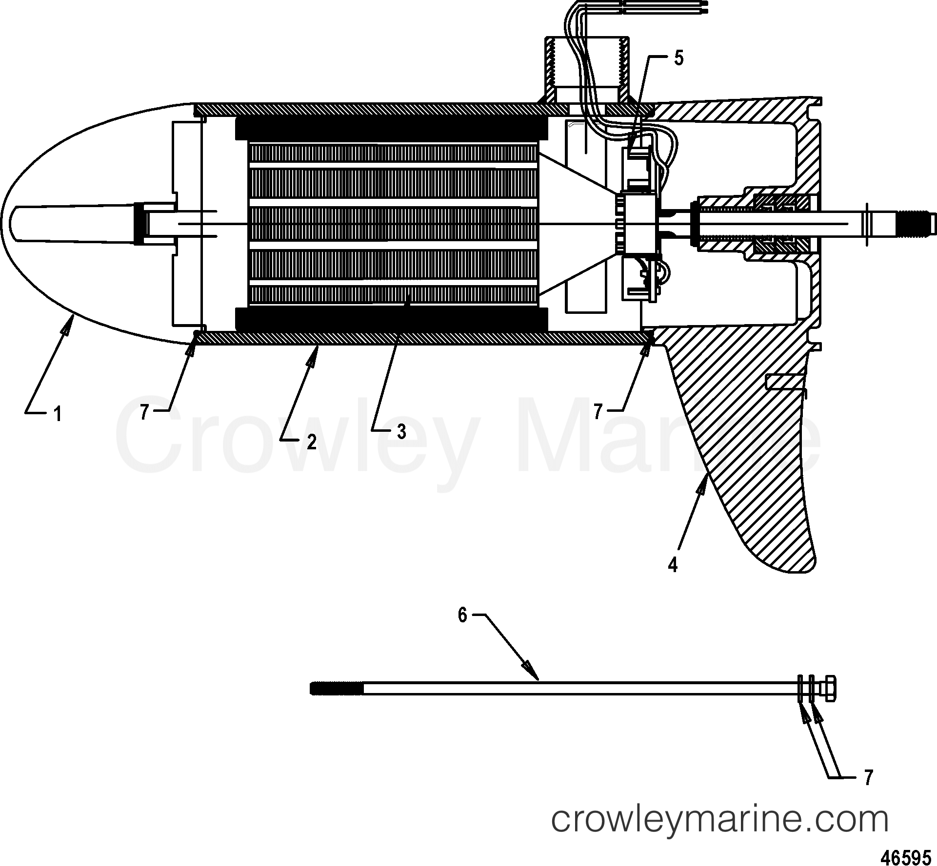 Lower Unit Assembly 75