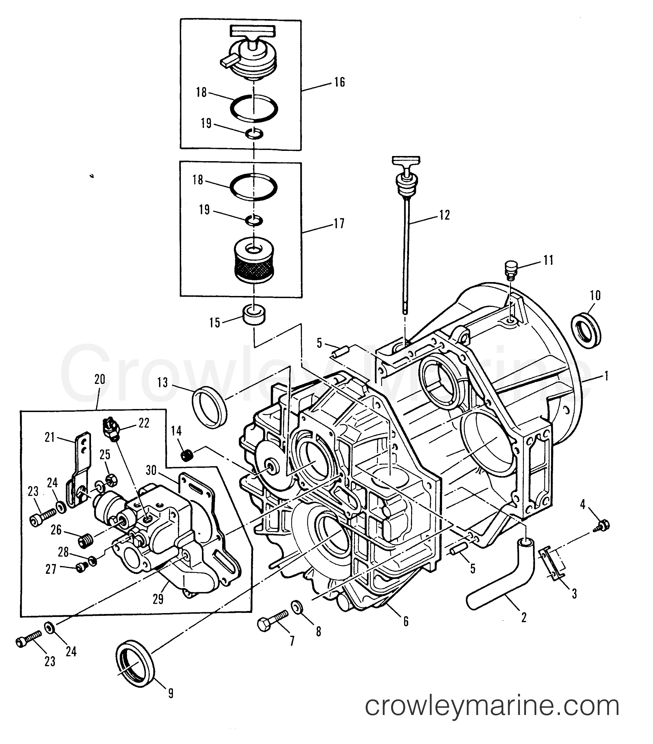 Transmission 800 Series Direct Drive 1