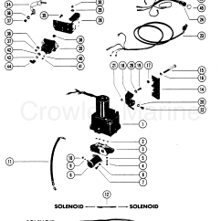 Mercury Outboard Parts Online Double Bubble Diagram Hydraulic Pump S N 5363917 And Below 1988