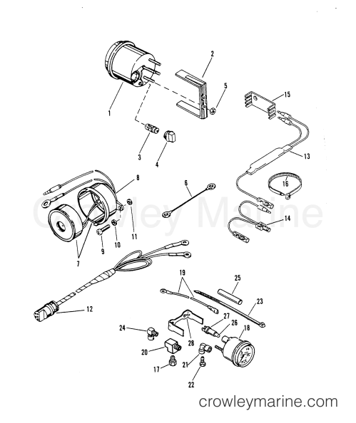 small resolution of 1990 mercury race outboard xr2 cust race 1920412jh instrumentation section