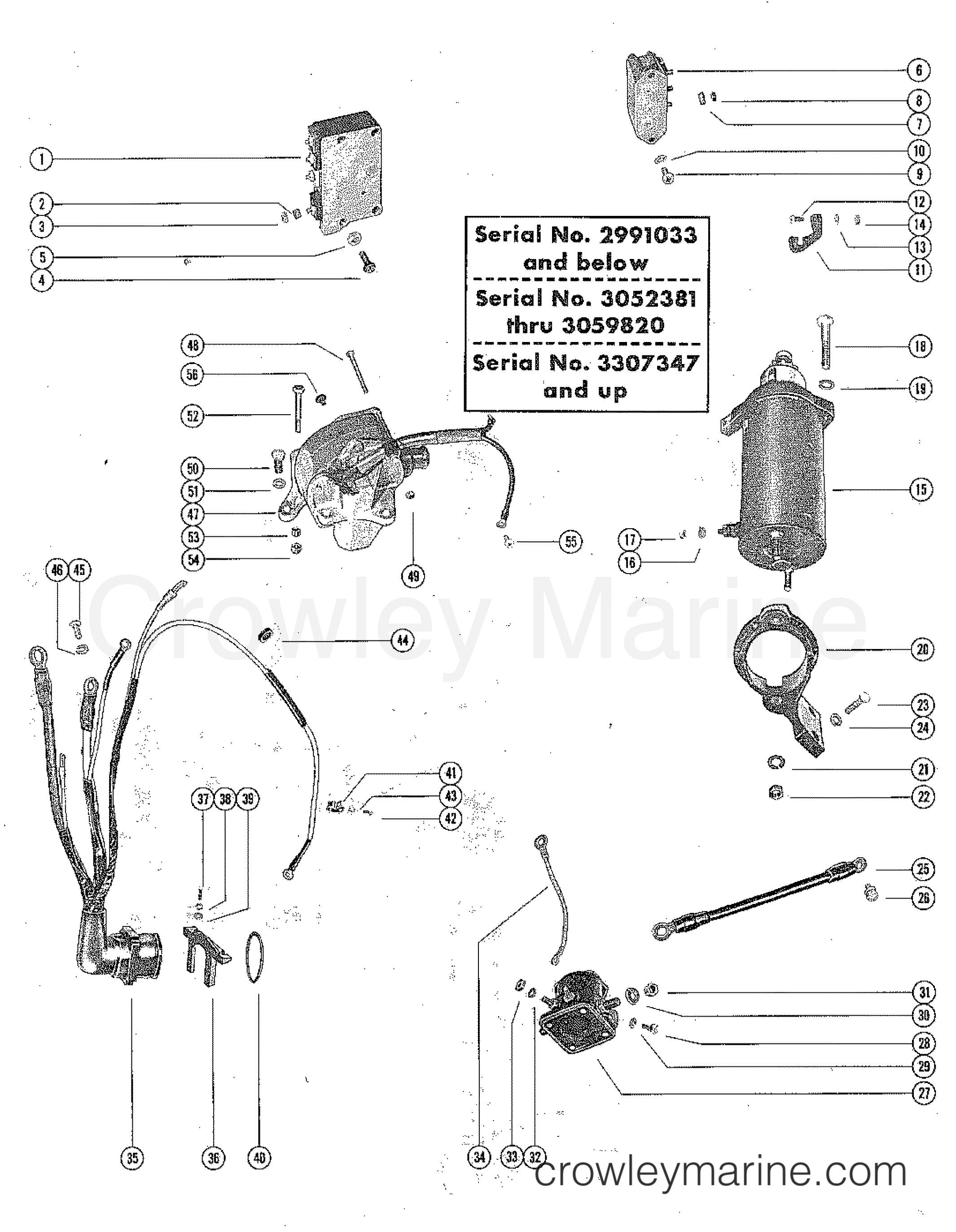 4 Cylinder Mercruiser Wiring Harness Diagram
