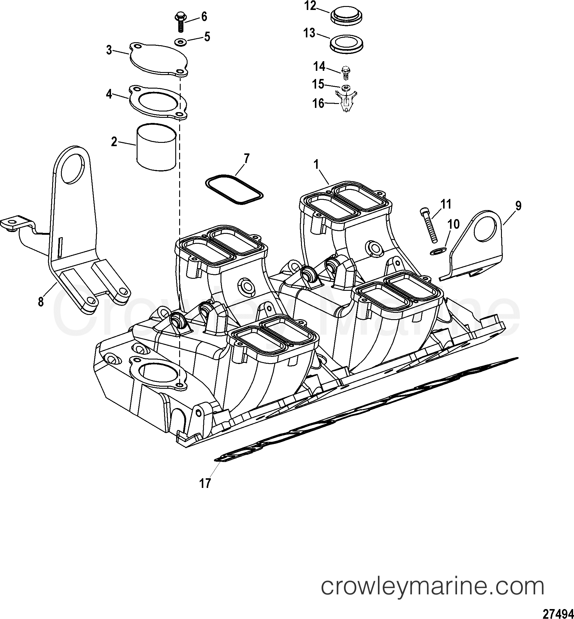 Intake Manifold And Components