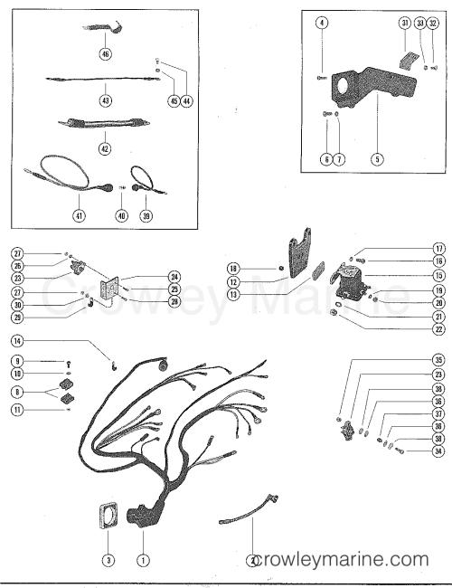 small resolution of serial range mercruiser 215 4 bbl ford 302 v 8 1970