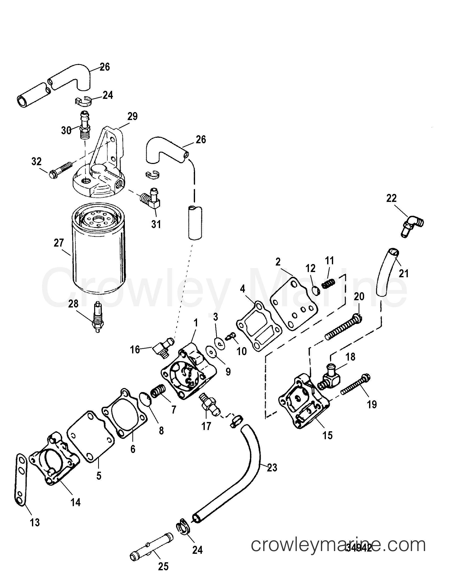 Mercury Outboard Fuel Filter Change Auto Electrical Wiring Diagram Related With