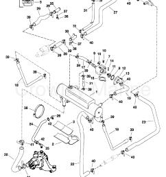 1998 mercury inboard engine 350 mag mpi horiz 3f4107jm1 closed cooling system [ 1750 x 2351 Pixel ]