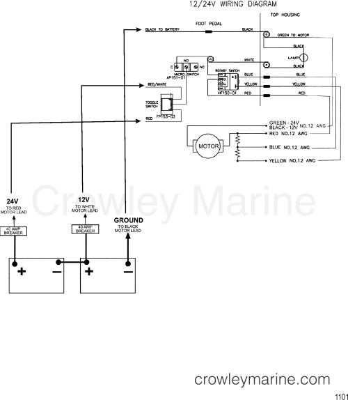 small resolution of motorguide 24 volt wiring diagram wiring diagram operations 24 volt wiring schematic
