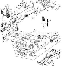various years rigging parts steering systems and components 1994 1994 up tiller handle [ 1973 x 2441 Pixel ]