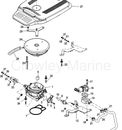 throttle body 1998 mercruiser 4 3l alpha mpi 424106lrs crowley 4 3 throttle body diagram [ 1860 x 2469 Pixel ]