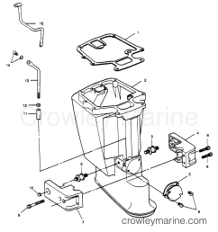 motor leg 1989 force outboard 50 h0505c89b b crowley marine diagram of 1989 force outboard h0505c89b gear housing diagram and [ 2160 x 2325 Pixel ]